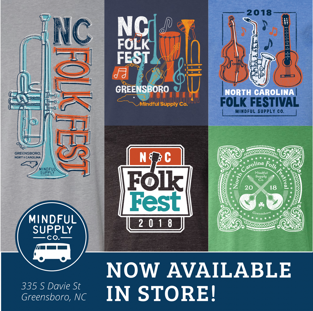 2018 FolkFest Merchandise is Available!