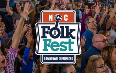 North Carolina Folk Festival in downtown Greensboro.