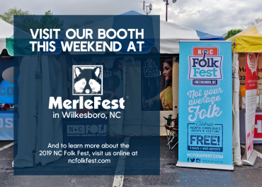 The NC Folk Fest is going to MerleFest!