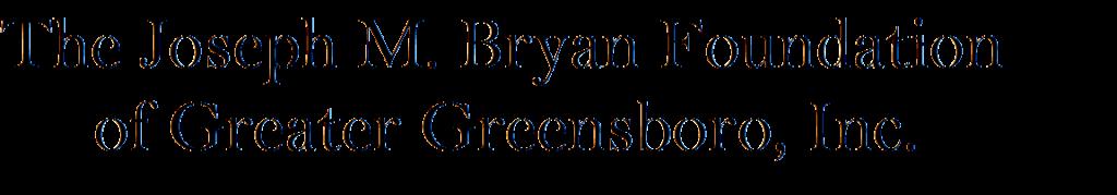 The Joseph M. Bryan Foundation of Greater Greensboro, Inc.