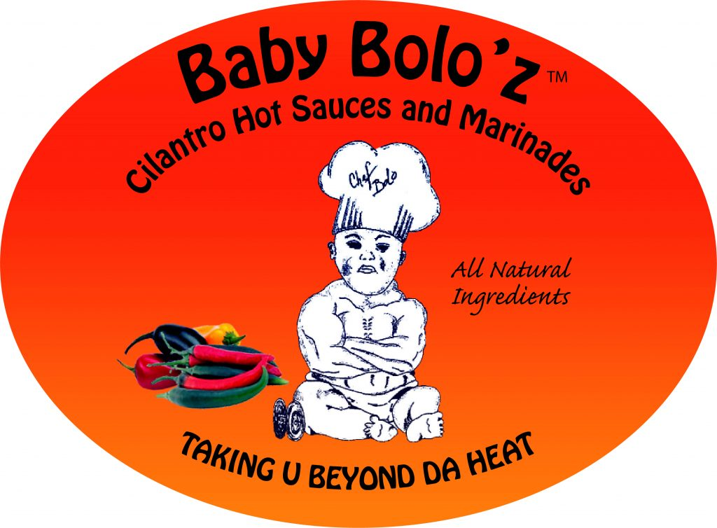 Baby Bolo'z Cilantro Hot Sauces and Marinades Taking U Beyond Da Heat. All Natural Ingredients.