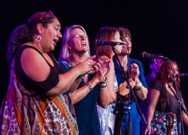 """Laurelyn Dossett Hosts """"Songs of Hope & Justice"""" with Special Guest Performers from the N.C. Folk Festival Thursday, September 5th in the Van Dyke Performance Space"""