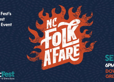 NC Folk Festival Adds New Culinary Fundraising Event to the 2019 Festival: NC Folk A'Fare