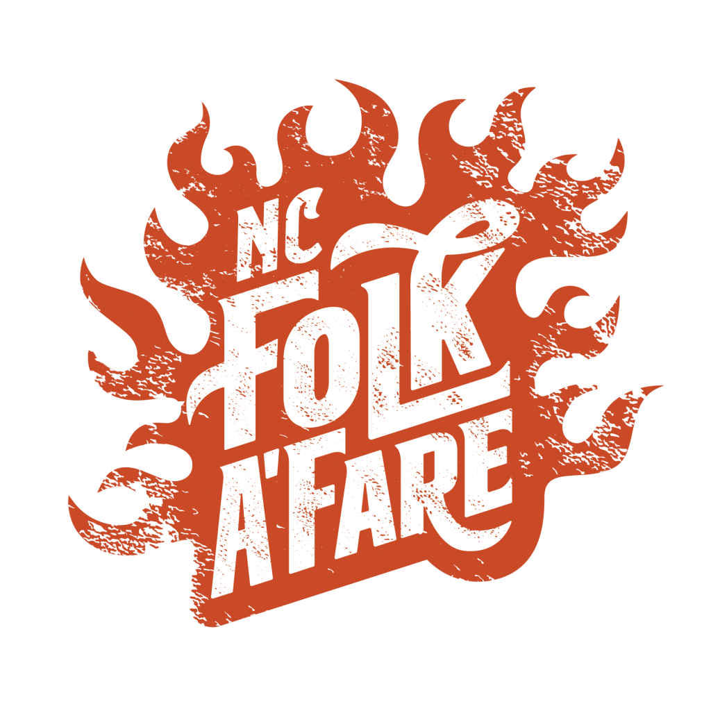 Logo for the NC Folk A'Fare