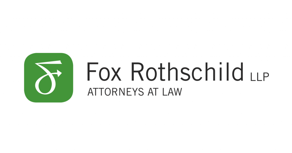 Fox Rothschild LLP Attorneys at Law.