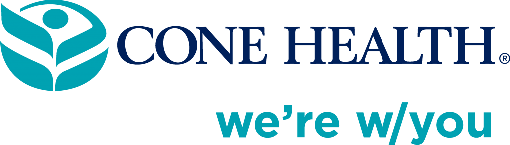 Cone Health we're w/you