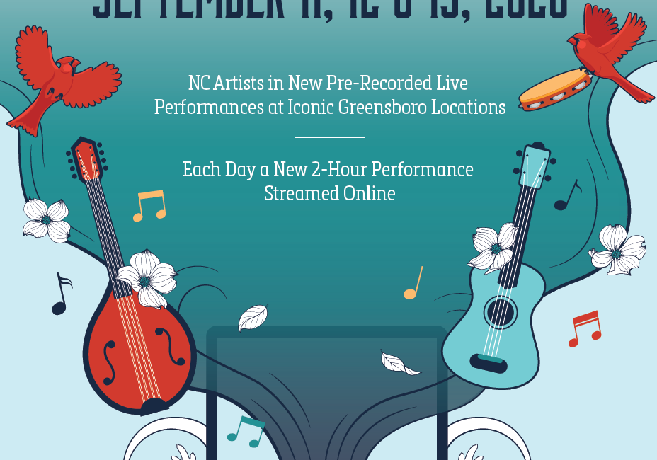 Virtual Concert Series Event Poster