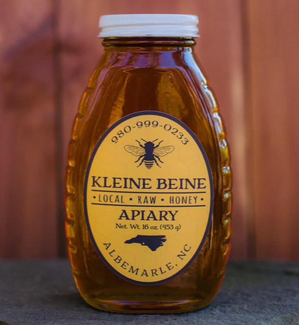 Bottle of honey.