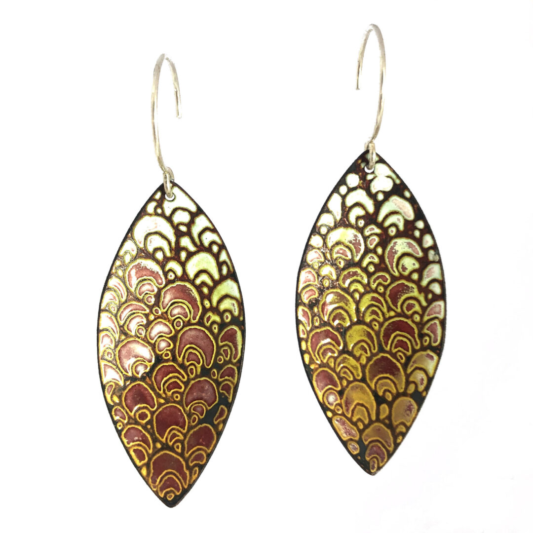 CopperTide Contemporary Enamel Jewelry
