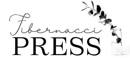 Fibernacci Press logo.